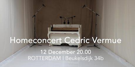 Homeconcert by Cedric Vermue tickets