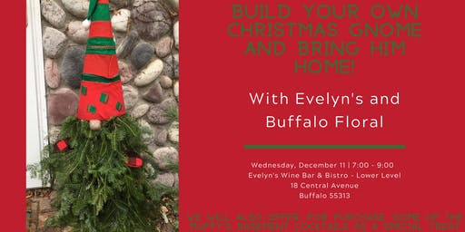 Christmas Gnomes with Evelyn's and Buffalo Floral