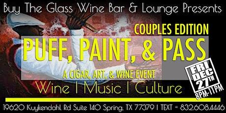 Puff, Paint & Pass | A Cigars, Art & Wine Event tickets