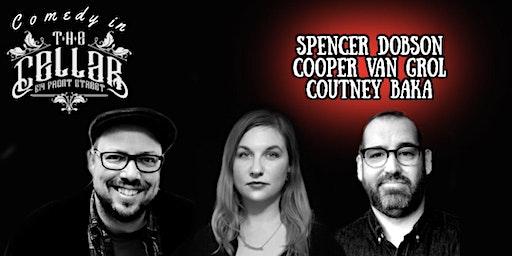 Comedy in The Cellar - Triple Pro Showcase