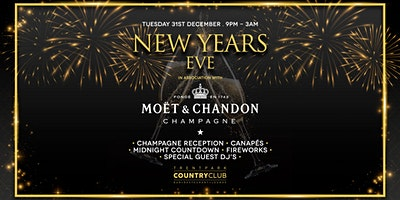 New Years Eve w/Moet & Chandon