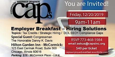 Community Assistance Programs Employer Breakfast