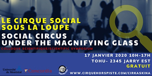 Le cirque social sous la loupe- Social circus under the magnifying glass