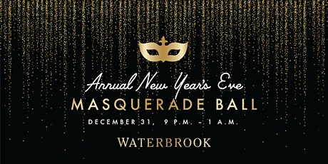 New Year's Eve Masquerade Ball at Waterbrook tickets