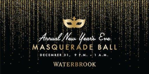 New Year's Eve Masquerade Ball at Waterbrook