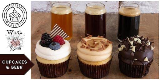 Cupcakes & Beer featuring Designer Desserts Bakery