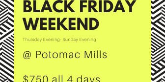 Black Friday @ Potomac Mills