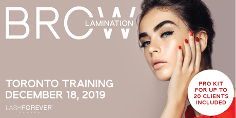 Brow Lamination Vancouver Training Course tickets
