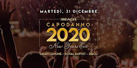 Capodanno 2020 - The Beach Club Milano - 31 Dicembre biglietti