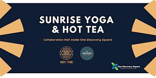 Sunrise Yoga & Hot Tea at One Discovery Square