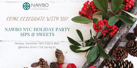 Holiday Party: Sips, Sweets and Shopping tickets