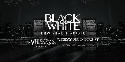 Whiskey Bar - Black & White NYE 2020
