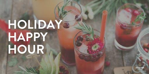 Aviatra Holiday Happy Hour