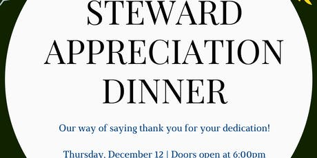 Steward Appreciation Dinner tickets
