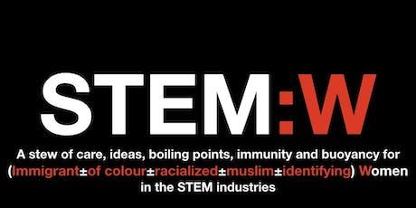STEM:W tickets