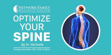 Optimize Your Spine with Dr. Michelle tickets