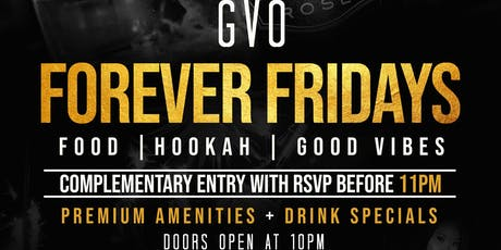 FOREVER FRIDAY'S FALL 19  tickets