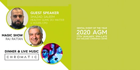 Dental Event Of The Year - 2020 AGM tickets