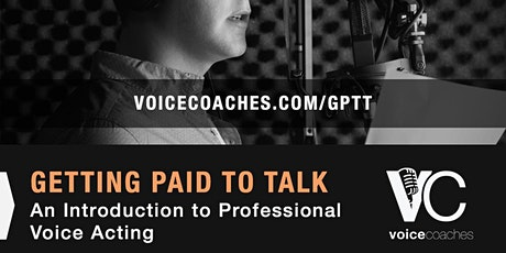 Portsmouth - Getting Paid to Talk: An Intro to Professional Voice Overs tickets