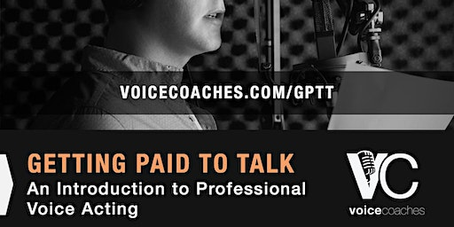 Portsmouth - Getting Paid to Talk: An Intro to Professional Voice Overs