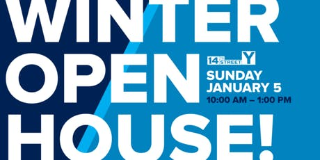 14th Street Y's Winter Open House tickets
