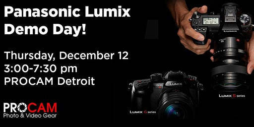Lumix Demo Day