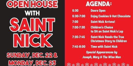Open House with St Nick