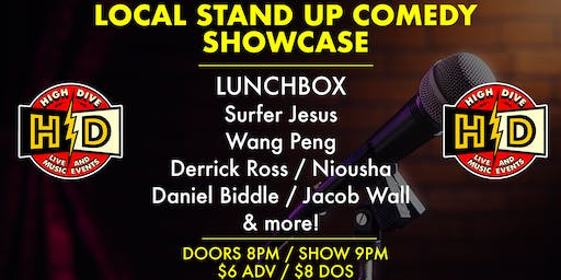 Local Stand-Up Comedy Showcase
