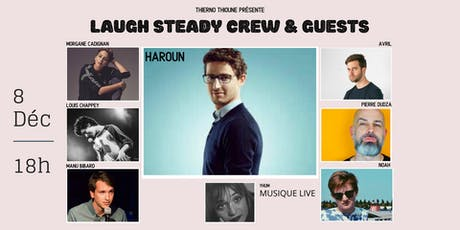 Laugh Steady Crew - Stand up & live music tickets