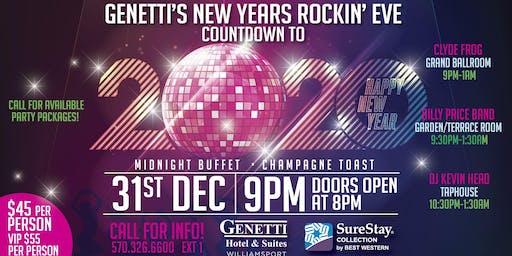 Genetti's New Years Rocking Eve
