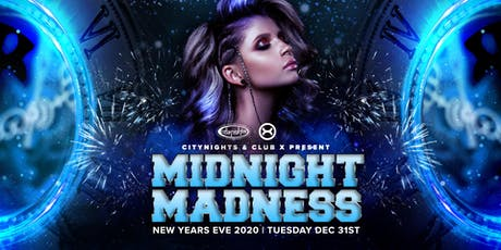 New Year's Eve 2020: Midnight Madness (Ages 18+) tickets