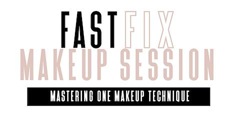 Fast Fix Makeup Session boletos