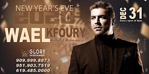 NYE 2020 - WAEL KFOURY - KING OF ROMANCE