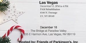 Friends of Parkinson's Holiday Celebration in Pahrump