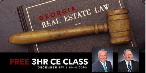 FREE CE CLASS- GREC License Law with David Maxey + Henry Norman
