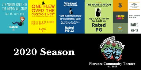 Florence Community Theater: 2020 Season Tickets tickets