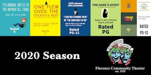 Florence Community Theater: 2020 Season Tickets