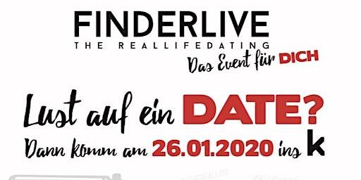 Finderlive the Reallifedating das Event