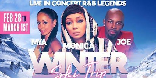 WINTER FETISH SKI TRIP W/MONICA, JOE, & MYA IN CONCERT | #YES