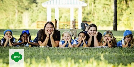 Kindergartners Discover  Girl Scouts at Elliott Elementary!