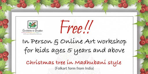 Free Holiday Art Workshop For Kids Ages 5 and above