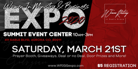 Women in Ministry & Business EXPO 2020 tickets
