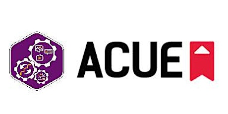 ACUE: Introduction to Course Alignment Workshop- In-Person (Spring 2020) tickets