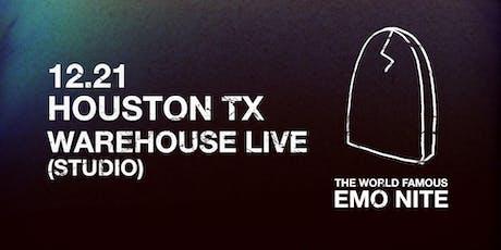 EMO NITE HOUSTON tickets