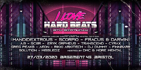 I Love Hard Beats: 8th Birthday tickets