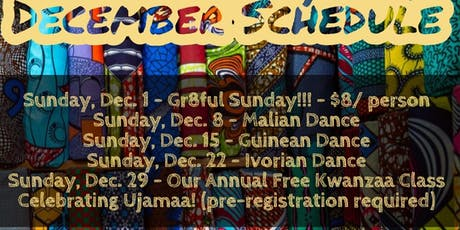 Free Kwanzaa West African Drum and Dance Class tickets