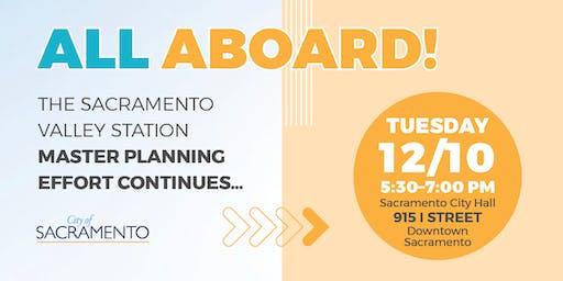 Sacramento Valley Station Master Plan - Community Workshop