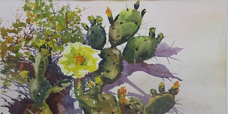 Prickly Pear Watercolor Workshop with Marion Hall tickets