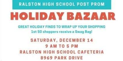 RHS Post Prom Holiday Bazaar