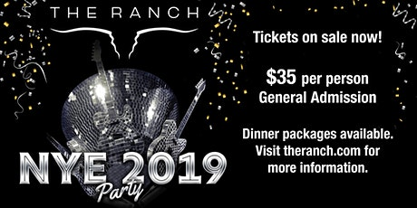 THE RANCH Saloon's Country Countdown tickets